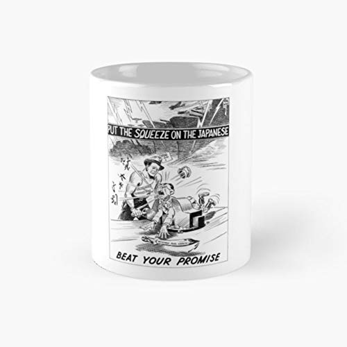 Coffee Bond Saucer (United States Propaganda 110z Mugs)