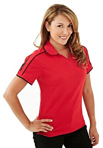 TMR Racing Women's Moisture Wicking Shirt - 204 Tach (Accented Piping Trim)