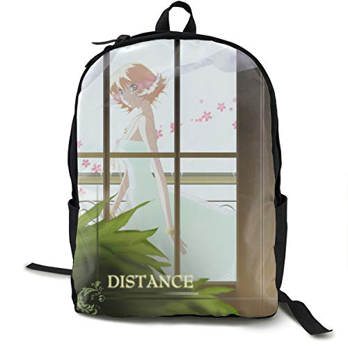 Angela R Mathews Gundam Seed Destiny-Athrun and Cagalli Anime Cartoon Cosplay Canvas Shoulder Bag Backpack Cool Lightweight Travel Daypacks School Backpack Laptop Backpack