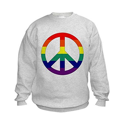 Peace Sign Kids Sweatshirt - 7