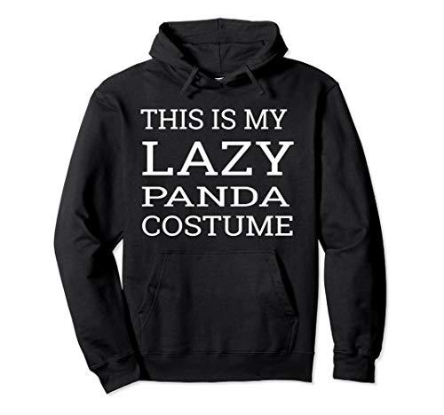 Lazy Panda Costume for Halloween Hoodie ()