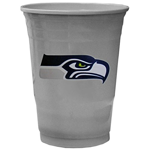 NFL Seattle Seahawks Game Day Cups, 18-Ounce (Game Day Cup)