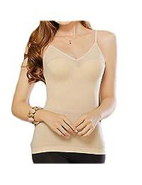 Dookingup Women Tummy Control Shapewear Tank Top Slimming Cami Compression Underwear Corset