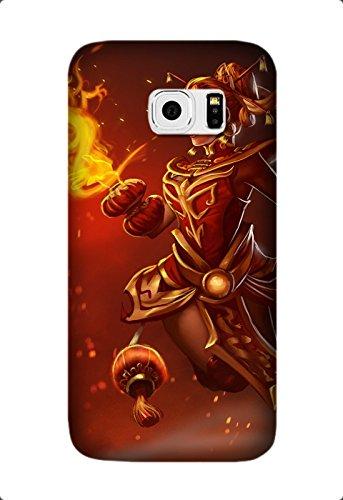 Samsung Galaxy S6 Edge lina dota 2 dragonfire set Game Pattern Case, Slim Fit Samsung Galaxy S6 Edge Case Design by [David Reed]