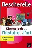 Bescherelle Chronologie de l'histoire de l'art: de la Renaissance à nos jours