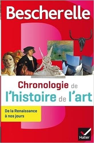 Livres Bescherelle Chronologie de l'histoire de l'art: de la Renaissance à nos jours pdf, epub