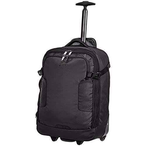 AmazonBasics Mercer Wheeled Duffel, Black ()