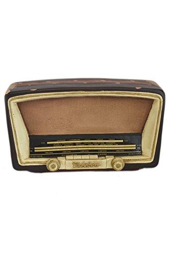 8.8 Vintage Radio Figurine Antique Decor Money Piggy Bank