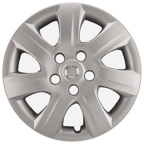 Hubcaps Com Premium Quality 16  Silver Hubcap Wheel Cover Fits Toyota Camry  Heavy Duty Construction  One Single Hubcap