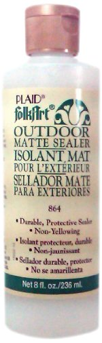 FolkArt K864 Outdoor Sealer (8 Ounce), Matte Finish ()