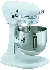 Amazon Com Kitchenaid K5sswh Heavy Duty Series 5 Quart