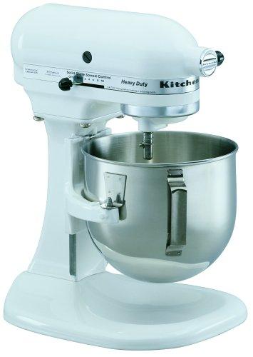Amazon Com Kitchenaid K5sswh Heavy Duty Series 5 Quart Stand Mixer