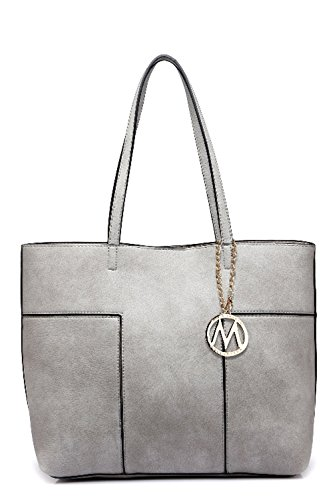 Farrow MKF Tote Collection by Sadie K Bag Grey Mia rqqBW01Ax
