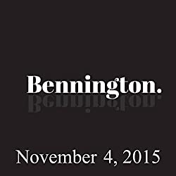 Bennington, November 4, 2015