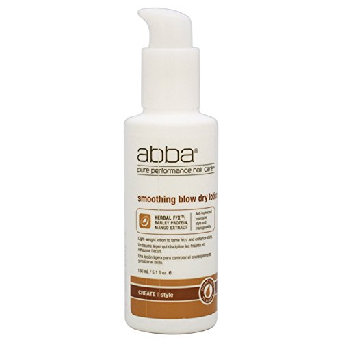 Abba Smoothing Blow Lotion Ounce
