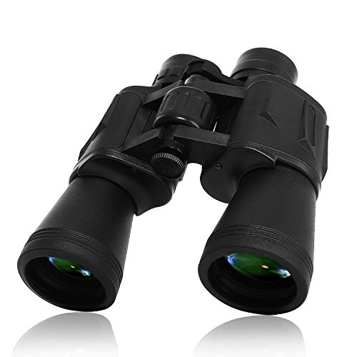 10 x 50 Powerful HD Binoculars for Adults Durable Full-Size Clear Binoculars for Bird Watching Travel Sightseeing Hunting Wildlife Watching Outdoor Sports Games and Concerts