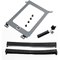 Olafus XDYGX HDD Cable, 3XYT5 Grommet HDD Rubber, 3FDY3 HDD Bracket Caddy for Dell XPS 15 9550, 9560, Precision 5510 with 2.5 inch Drive Bay Complete set
