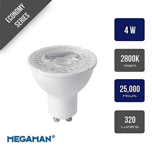 Megaman 141910 - Bombilla LED (GU10, PAR16, 4 W, 35 grados,