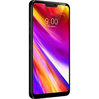 "LG Electronics G7 ThinQ Factory Unlocked Phone - 6.1"" Screen - 64GB - Aurora Black (U.S. Warranty)"