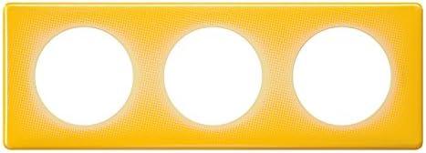 Legrand LEG98886 C/éliane2 Plaque avec 3 postes Violet 90s