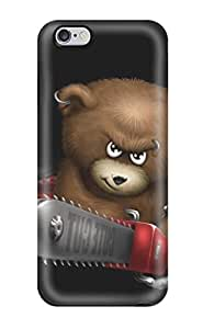 Premium Iphone 6 Plus Case - Protective Skin - High Quality For Funnys Angry Bear