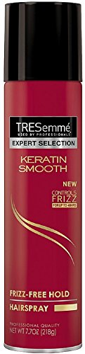 TRESemme Expert Selection Keratin Smooth Hairspray, Frizz-Fr