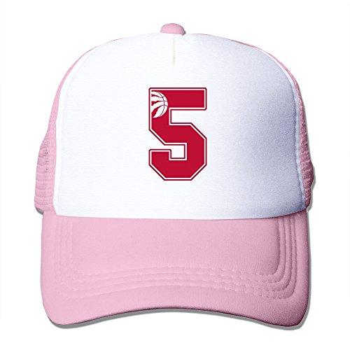 Texhood Basketball Toronto 5 Fashion Sunhats SizeOne Size Pink