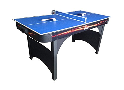 Voit Foosball - Voit Playmaker Air Hockey Table with Table Tennis, 60