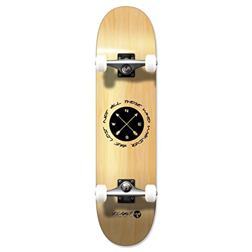 The Wander Series: Natural Complete Longboard skateboards - mini and micro cruisers (Standard skateboard) (Complete Micro Skateboard)