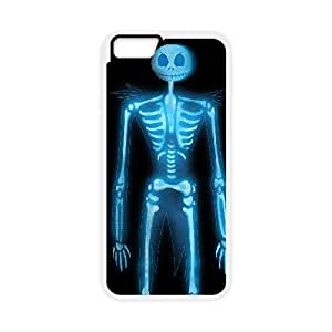 iPhone 6 Plus 5.5 Inch Cell Phone Case White XRAY Eteoc