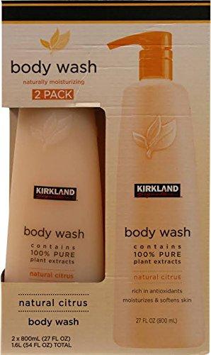 Body Citrus Shower Gel - Kirkland Signature Natural Body Wash 2pk, 27 Ounce