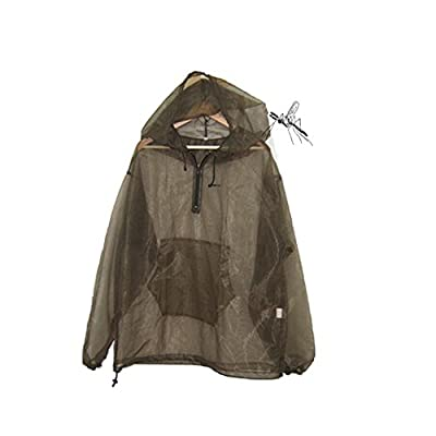 Aventik Mosquito Jacket Super Fine Mesh, Super light, One Size For All, Full Face Hood, Keep Safe Cool, UV Protection, Great Design