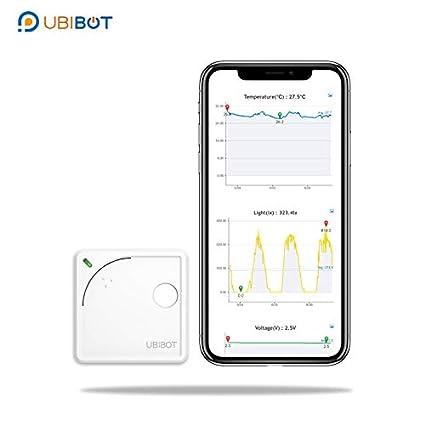 Termómetro inalámbrico con wifi, temperatura remota, humedad, monitor de luz, sensor de