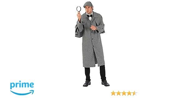 Fun Shack Gris Detective Victoriano Disfraz para Hombres - XL ...