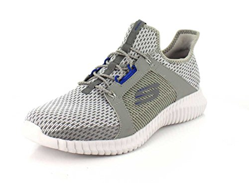 outlet newest Skechers Men 52640 Slip on Trainers Gray discount really usSvzl0