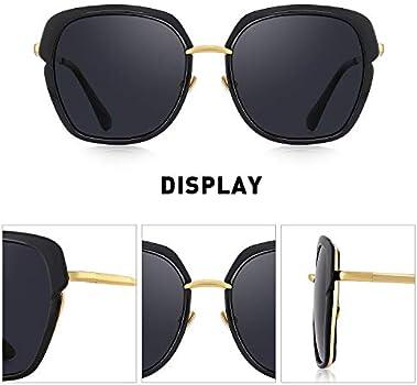 OLIEYE Vintage Women/'s Polarized shield Frame Sunglasses O6371