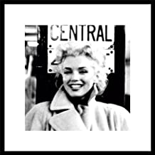 Marilyn Monroe New York City Central Sign Classic Hollywood Celebrity Framed Poster Print