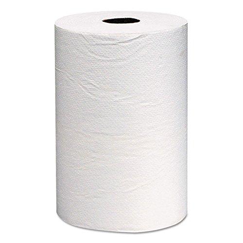 (Scott 01040 Hard Roll Towels, 1.5-Inch Core, 8 x 800ft, White, 12 Rolls/Carton)