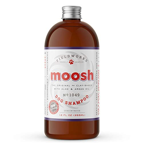 Moosh Natural Dog Shampoo – Promotes Healthy Hair, Coat and Skin