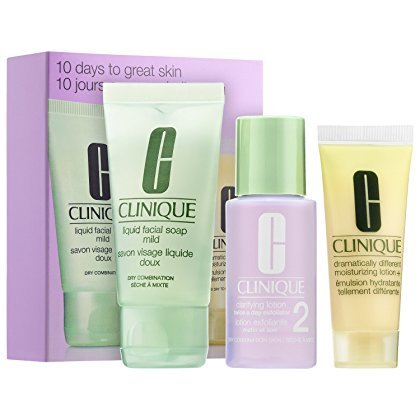 CLINIQUE 3-Step Skincare System Trial Set (Dry/Combination)