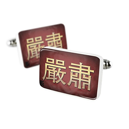 Star Yellow Cufflinks (Cufflinks Star Chinese characters, letter red / yellow Porcelain Ceramic NEONBLOND)