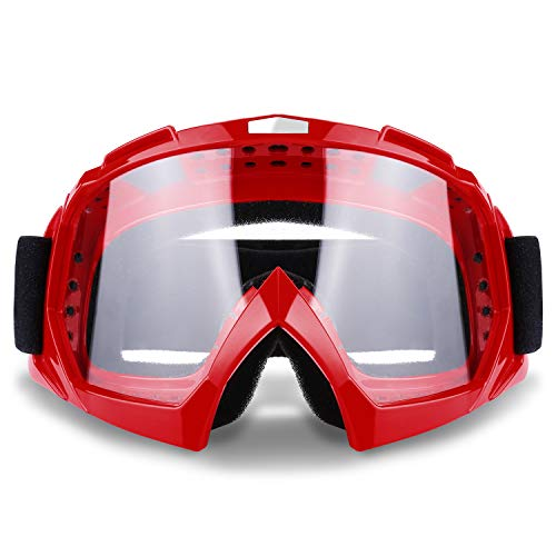 Ski Goggles Snowboard Goggles Motorcycle Goggles UV Protective Riding Glasses Windproof Dustproof for Outdoor Sports