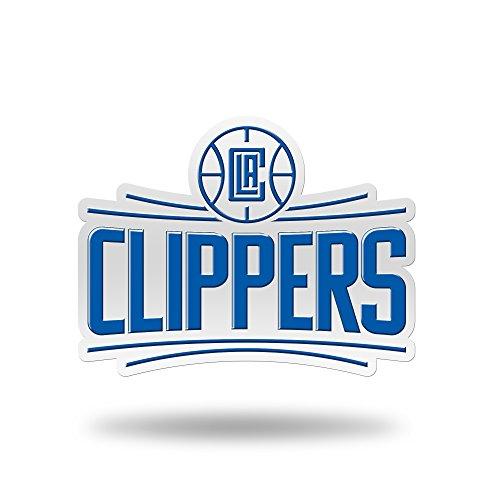 Rico Industries NBA Los Angeles Clippers Team Color Auto Emblem 3D ()