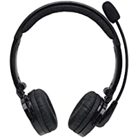 iSKUKA Over the Head Bluetooth Headset for Hands Free Calling Music Listening Playing Games