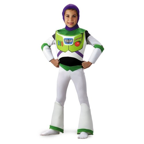 Disney Halloween Costumes For Boys (Buzz Lightyear Deluxe - Size: Child S(4-6))