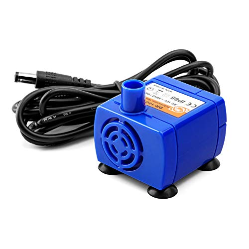 Veken Replacement Pump for 84oz/2.5L Cat Water Fountain Pet Fountain Ultra Quiet Long Life Span 6ft Power Cable
