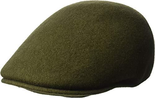 - Kangol Men's Seamless Wool 507 Flat Ivy Cap HAT, Loden, L