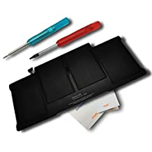 "Lizone High Performance 50Wh Laptop Battery for Apple MacBook Air 13"" A1405 A1466 2012 020-7379-A 661-6055 MC503 MC504 MacBook Air ""Core i5"" 1.6 13"" MacBook Air ""Core i7"" 1.8 13"" A1377 020-7379-A (A1369 Mid-2011 Mid-2010 version) 7.3V/6800mAh"