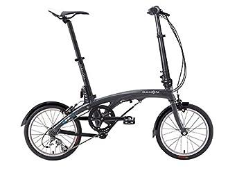 2016 Dahon EEZZ bicicleta plegable 3 velocidad negro 9.7 kg