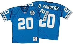 Barry Sanders Detroit Lions Mitchell & Ness Authentic 1993 Blue NFL Jersey